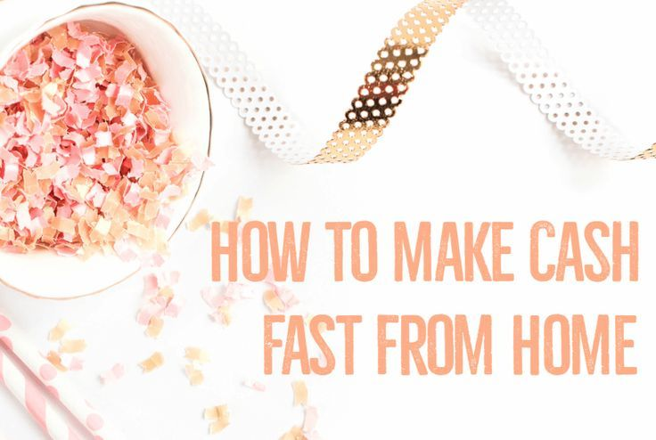 How to Make Cash Fast from Home | The Work at Home Wife - http://www.popularaz.com/how-to-make-cash-fast-from-home-the-work-at-home-wife-4/