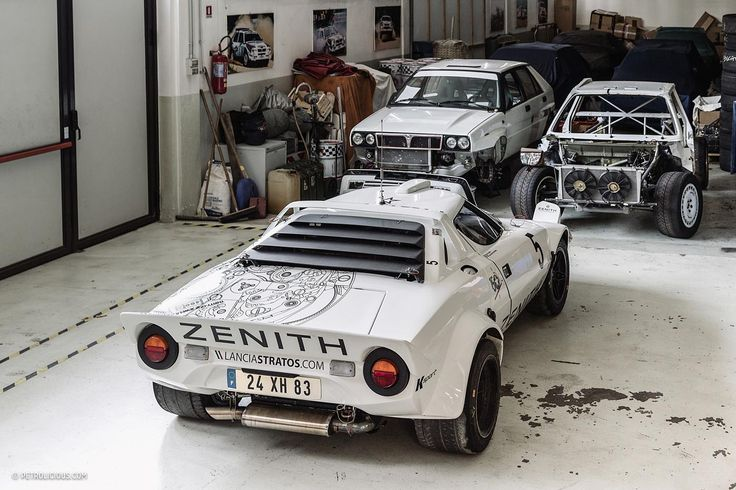 Lancia Stratos - This Heavenly Garage Only Works On Lancia Rally Cars | Petrolicious