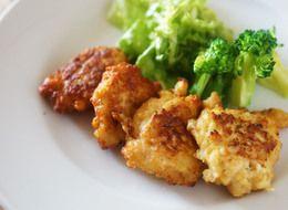 鶏ひき肉と豆腐のふわふわナゲット☺