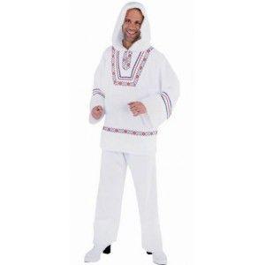 deguisement eskimo (esquimau) blanc homme de Magic by Freddy