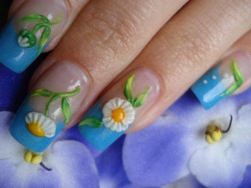 Fake Nail Ideas: Creative Nail Design With Fake Nails For Short Nails ~ Nail Ideas Inspiration
