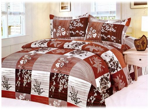 Velum Geometric Floral Double Bed Sheet with 2 pillow covers at Rs. 299 only..