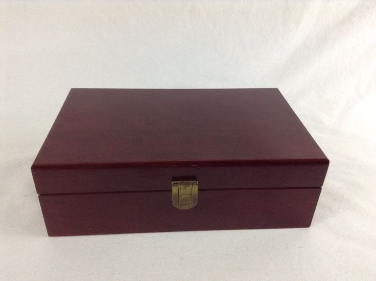 Rosewood Humidor Cigar Humidifier Box With Hydrometer Well Made