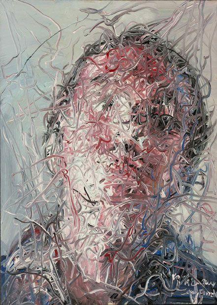 ZENG FANZHI http://www.widewalls.ch/artist/zeng-fanzhi/ #contemporary #art…