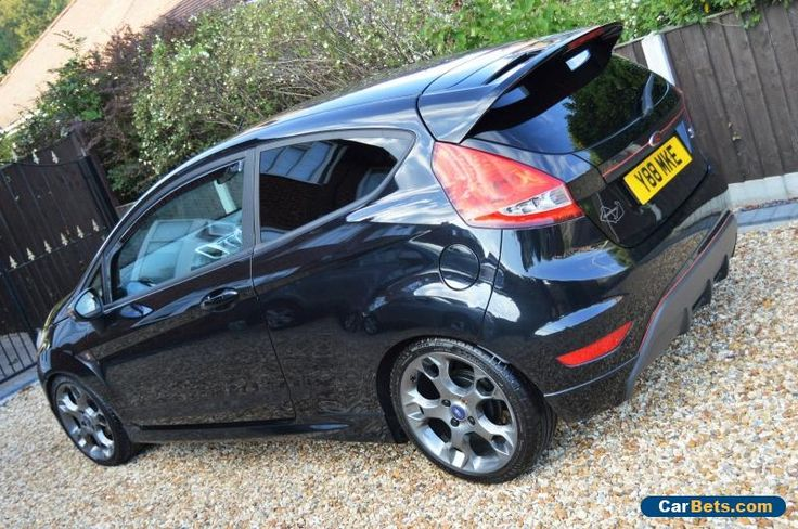 2009 FORD FIESTA 1.6 ZETEC S 120 MANUAL 3 DOOR BLACK #ford #fiestazetecs120 #forsale #unitedkingdom