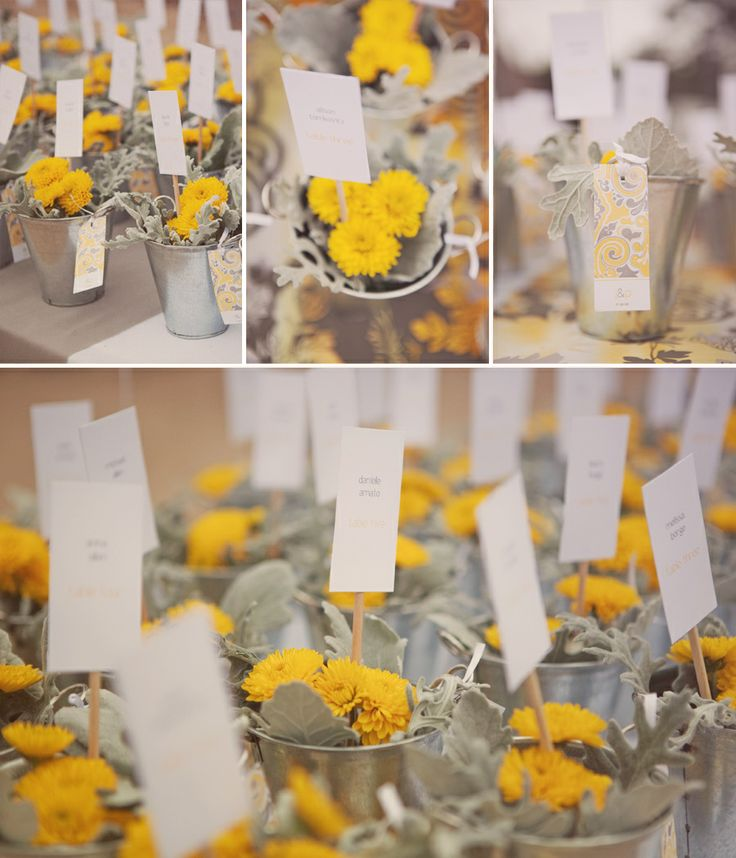 15 best yellow gray wedding images on pinterest gray weddings cute grayyellow idea junglespirit Image collections