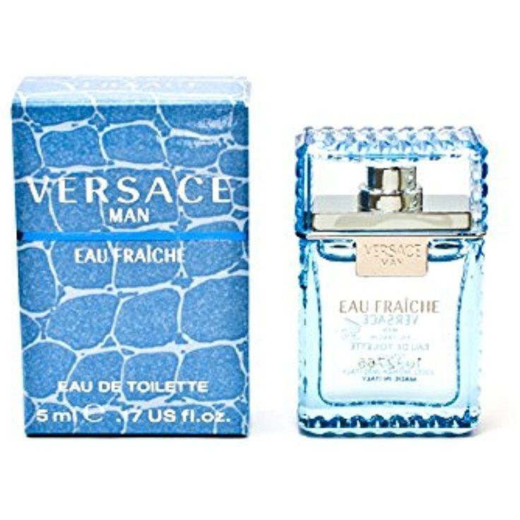 Man Eau Fraiche By Versace Eau de toilette splash Citrus, aromatic 0.17 Ounce #Versace