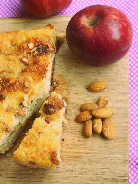 Tarta de manzana fácil, un postre perfecto para el invierno.