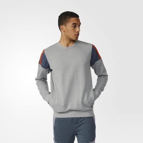 Elevated Crew Sweatshirt - Grey