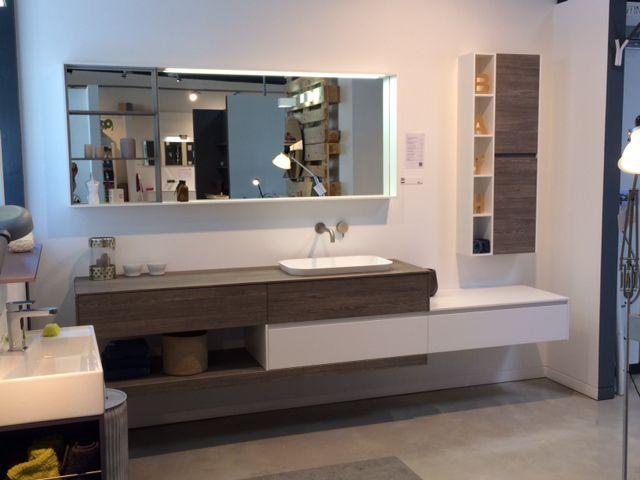 Bathroom furniture composition in Lutterbach, France #arredobagno #arredo #bagno #design