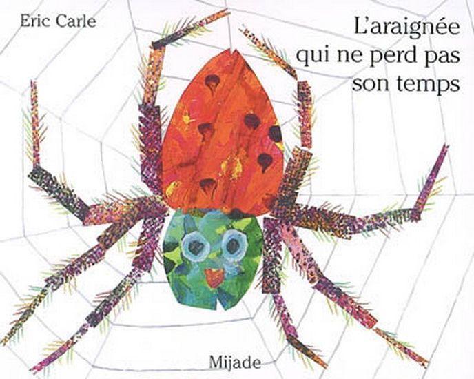 Une araignée s'applique à construire sa toile sans se laisser distraire. Une mouche vient à passer et l'araignée qui avait consacré tant de temps à tisser n'a plus qu'à laisser le temps faire son oeuvre.