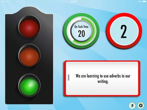 Silent Light - Classroom Timer and Decibel Meter by Top Storey Apps Limited