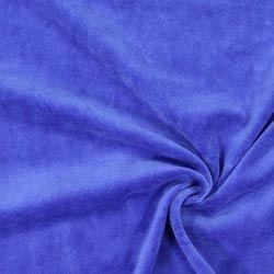 Nicki Stoff Uni – königsblau