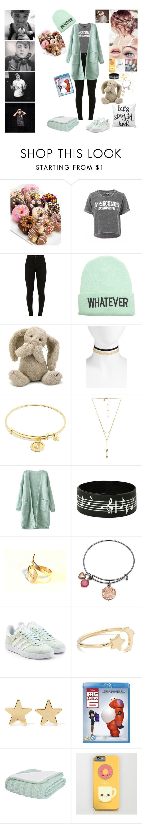 """Jamie's Lazy Afternoon"" by alexishambleton on Polyvore featuring mode, Golden Edibles, Wet Seal, Jellycat, BP., Chrysalis, Rebecca Minkoff, BillyTheTree, adidas Originals et Ariel Gordon"