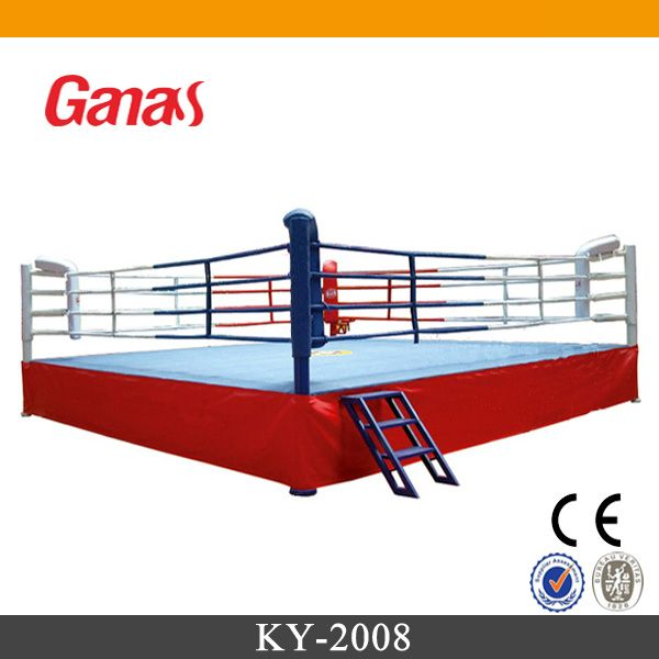 KY-2008 Ganas Competition Thai Used Boxing Ring for Sale