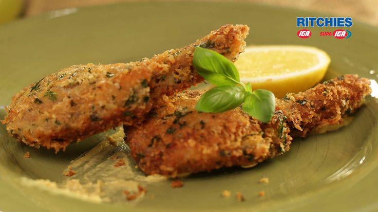 Parmesan & Herb Crusted Lamb Cutlets