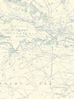 Maps Nautical Wallpaper $22.99 per roll