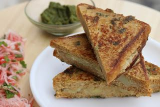 Give this a read 👉 Healthy Stuffed Bread Pakora  http://www.healthykadai.com/2017/02/healthy-stuffed-bread-pakora.html?utm_campaign=crowdfire&utm_content=crowdfire&utm_medium=social&utm_source=pinterest