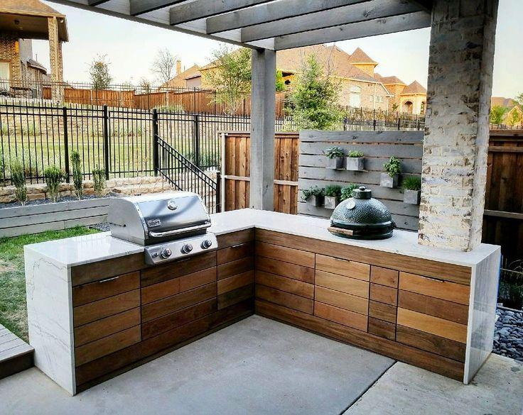 Weber Grill In Outdoor Küche Integrieren : Outdoor küche u genussvoll draußen kochen schÖner wohnen