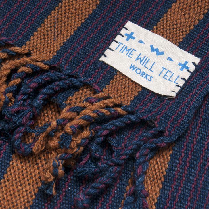 Cashmere Silk Scarf - Tuareg Indigo Series by VIDA VIDA x1tdz