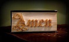 Amen (schneiden und Falten) keine eingeblendeten Seiten Buch Falten Muster 449 Seiten Buch Höhe 22cm