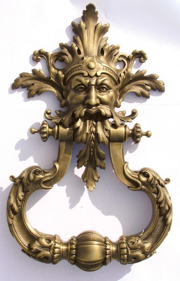96 best door knockers images on pinterest lever door handles door handles and door knockers - Unusual door knocker ...