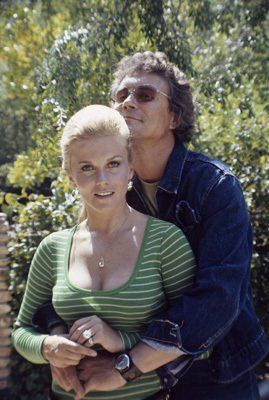 Ann-Margret at home with husband Roger Smith