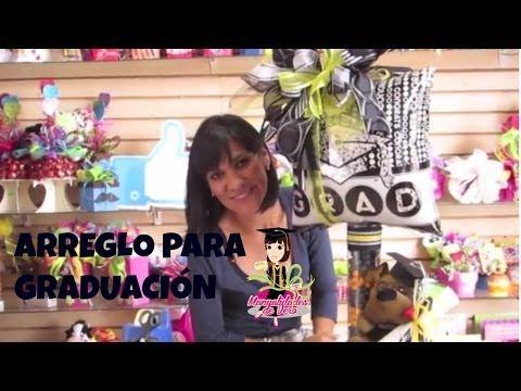 ADORNOS O ARREGLOS DE GRADUACION TIPO DULCEROS . - YouTube