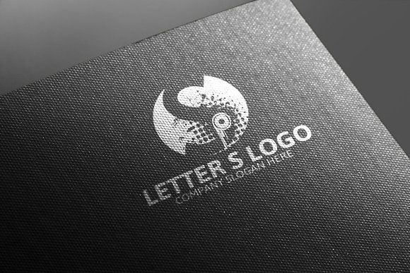 S Letter Logo Template -50% Discou by Josuf Media on @creativemarket