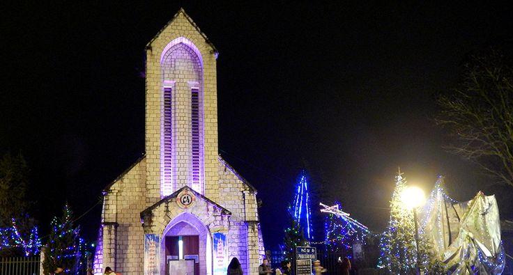 Holy Rosary Church Or the Stone Church in Sapa. #church #sapa #travel #wandering