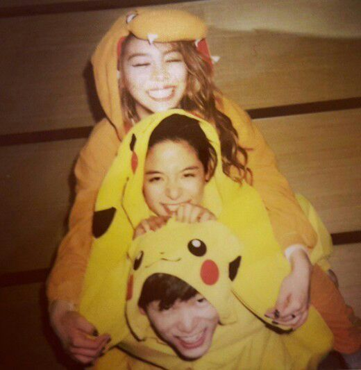 Ailee, Amber & Eric Nam this is literally the best picture in the history of everything