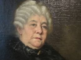 """Truth is the only safe ground to stand on."" —Elizabeth Cady Stanton (image from http://commons.wikimedia.org/wiki/File:Elizabeth_Cady_Stanton_at_National_Portrait_Gallery_IMG_4401.JPG)"