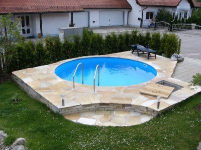 45 besten Pool \ Schwimmteich Bilder auf Pinterest Schwimmteich - schwimmbad selber bauen