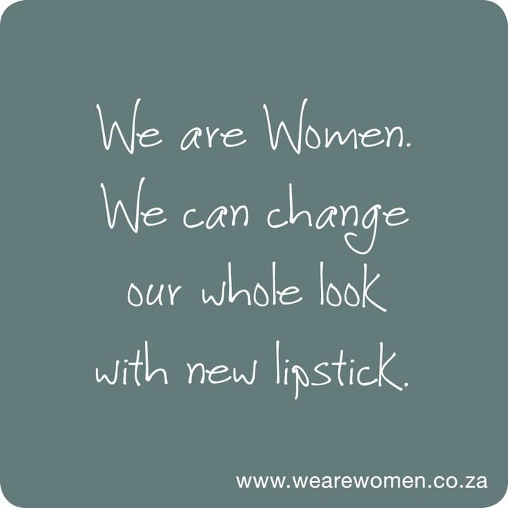 We Are Women | we can change our whole look with new lipstick