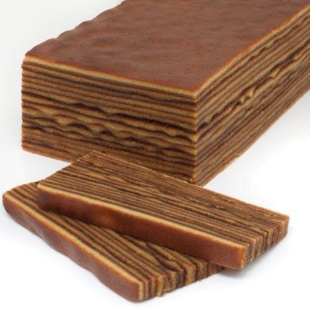 Exotic Thousand Layer Cake #gluten-free