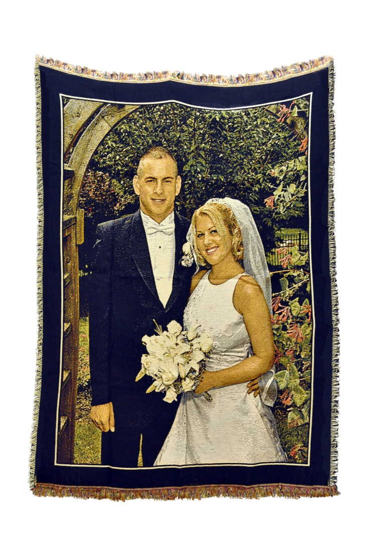 Photo Gifts for all occasions. Photo blanket makes a perfect wedding gift or anniversary gift