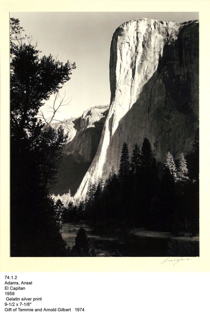 el capitan ansel adams - photo #21