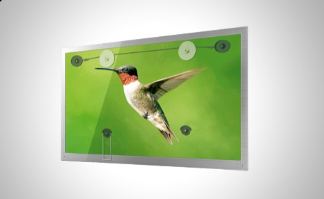 Si dispones de un televisor LED este soporte es ideal para colocarlo lo más cerca de la pared posible http://www.doferta.com/soporte-de-pared-para-tv-led-de-32-a-55-pulgadas.html