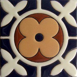 Mexican Tile Cuerda Seca: rdc 04
