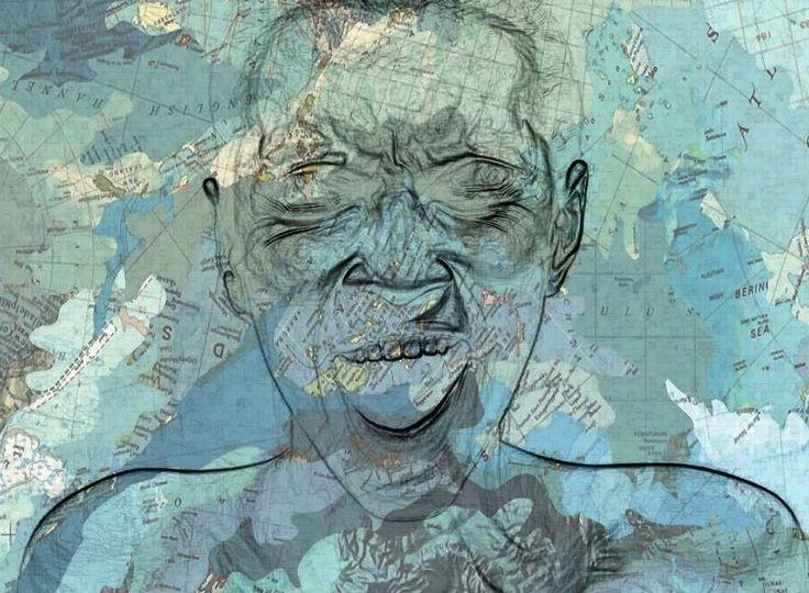 """Conosciamo gli #artisti: Francesca Sigilli. La #fotografa presenta """"Map"""", un progetto che nasce dalla voglia di recuperare delle vecchie mappe geografiche per ridargli nuova vita, lavorando su di esse con il supporto delle nuove tecnologie. Nei suoi lavori mette in scena l'intima relazione tra gli esseri umani e l'ambiente che li circonda, ogni mutazione è sempre reciproca e ogni strada, edificio o volto è espressione di una profonda simbiosi."""