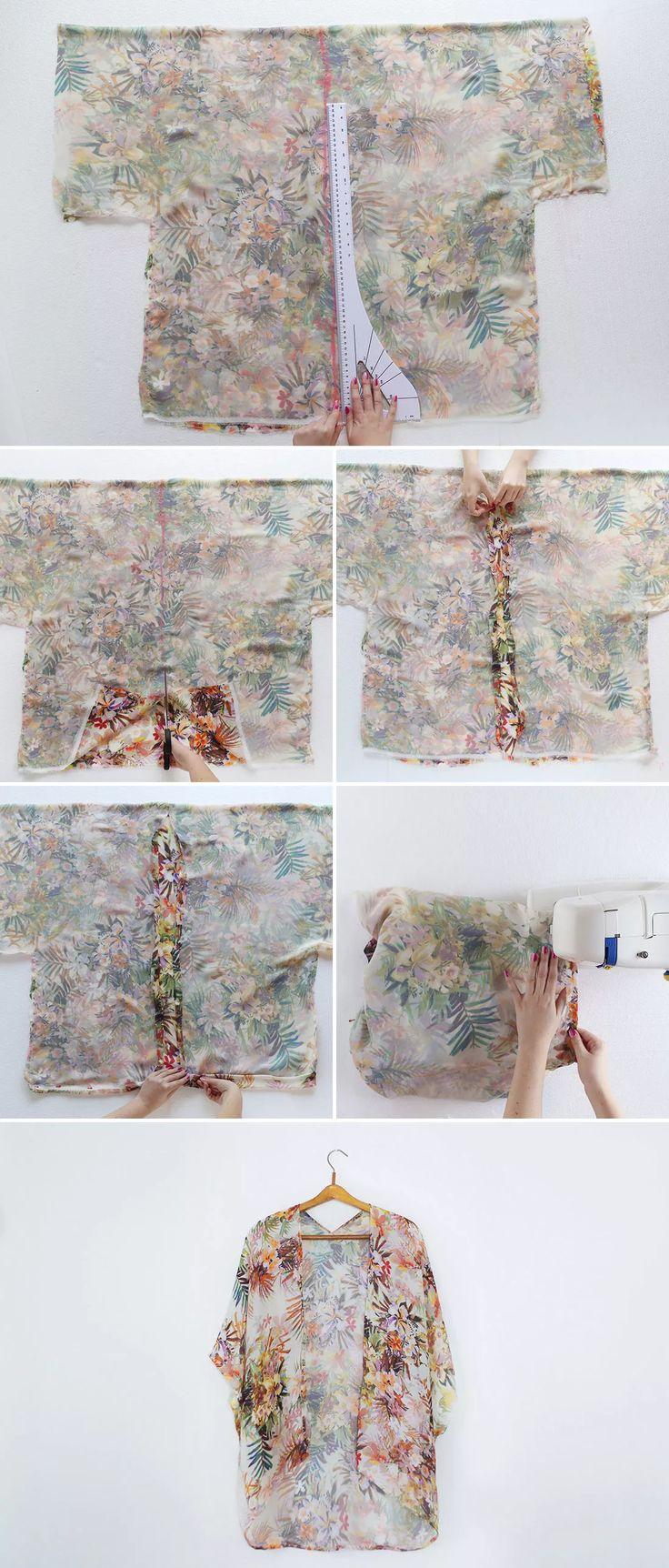 sew a 30 minute $10 kimono