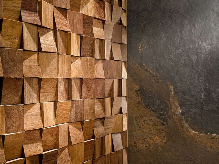 Panneau décoratif mural / en bois / 3D - WOOD ART - L'ANTIC COLONIAL by Porcelanosa