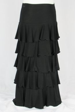 Girls Gilat Long Black Skirt - Kyli wants this for her birthday