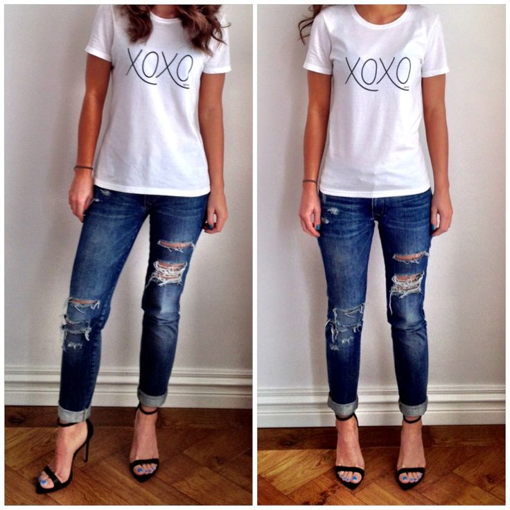 27 best DIY ripped jeans images on Pinterest | Diy ripped jeans ...
