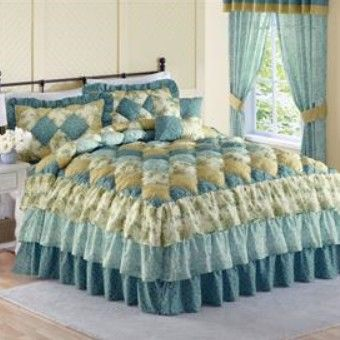 Alexis Puff Top Printed Bedspread Amp More From Brylanehome