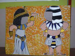 Resultado de imagen de manualidades egipto