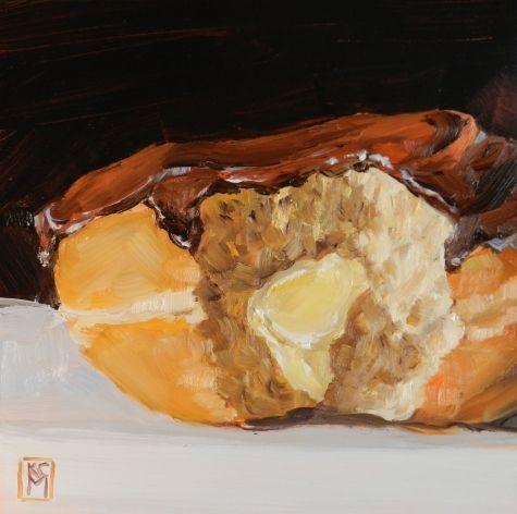 Boston Cream Painting Artist