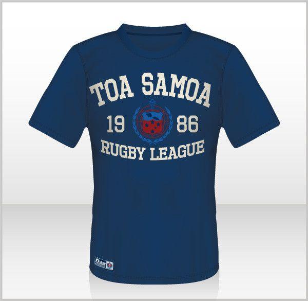 Toa Samoa - Original Tee