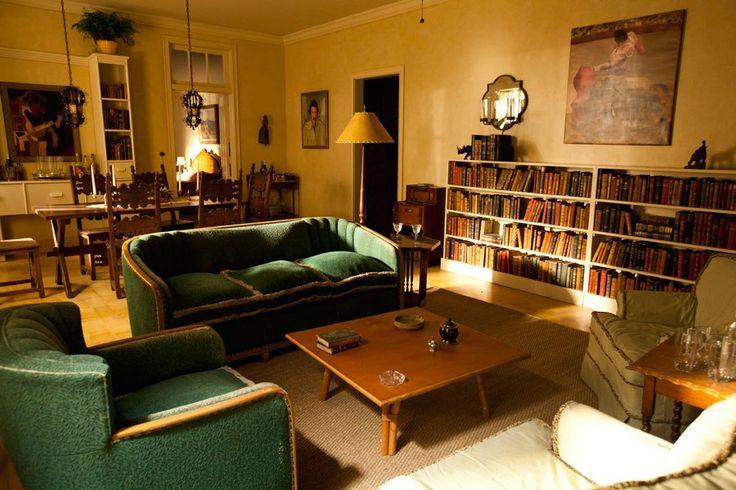 Fab 1940s Havana living room from the set of HBO's Hemingway & Gellhorn