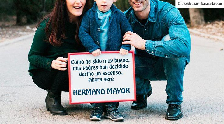 Anuncio Hermano Mayor, segundo embarazo - Blog de una embarazada via @trandafiras